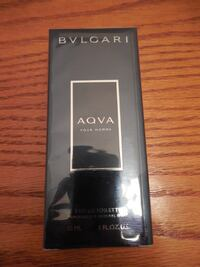 New 30ml Bulgari Aqua mens cologne Toronto