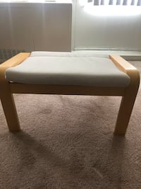 White chair from Ikea Chicago, 60616