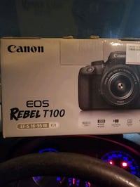 Canon Rebel T100 for sale Toronto, M9C 2M8