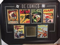 DC comics plaque