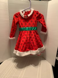 Minnie Mouse Christmas Dress size 6 Manchester, 08759