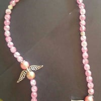 pink and white beaded necklace Ottawa, K2H 9A9