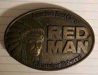 REDMAN CHEW Belt buckle 1988