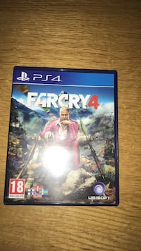Farcry 4 PS4 spill tilfelle Torp, 1658
