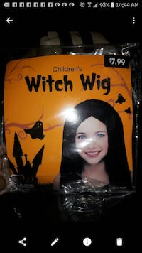 Brand new kids Halloween wig