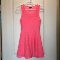 LNC Bright Pink/ Coral Material Girl Dress  Vancouver, V5R 6H8