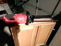 red and black hedge trimmer Aurora, 80011