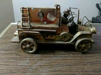 Antique brass music Fire truck. La Vista