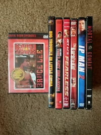 assorted DVD movie case lot Washington, 20010