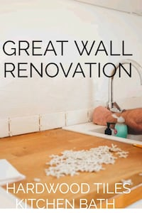 GREAT WALL RENO PAINT HARDWOOD LAMINATE TILES BATH Richmond Hill