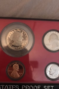Rare Proof Set Coins (Negotiable) Lubbock