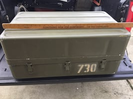 Military trunk/chest $60