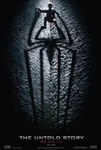 The Amazing Spiderman Vinyl Movie Banner