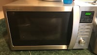 Stainless Steele microwave oven