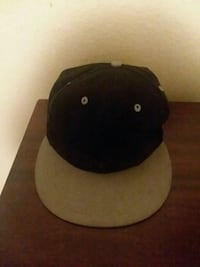 black and gray fitted cap North Las Vegas, 89030