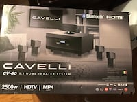 black and gray Sony home theater system box Baltimore, 21212