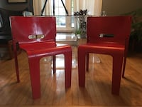 Pair of Canadian mid century modern bent plywood chairs - designed by Muller and Stewart - good condition! Toronto, M2J 2Z6
