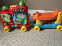 Musical toy for toddlers. Excellent condition comes with blocks. Original price 59 + tax  Brampton, L7A