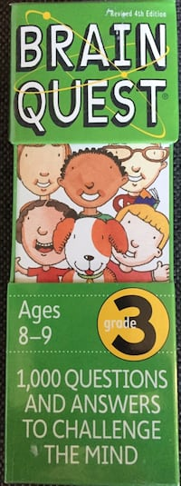 (NEW & UNOPENED) Brain Quest Grade 3 - Revised 4th Edition Houston, 77056