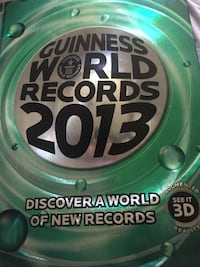 Guinness world records 2013 book Calgary, T3E 6L9