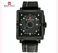 Naviforce Leather Strap Waterproof Wristwatches   City of Industry, 91744