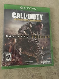 Call of duty advanced warfare for Xbox one mint condition asking 20$  Hamilton, L8K 5H7