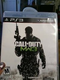 Call of Duty MW3 PS3 game case Grand Junction, 81504