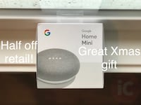 Google Home Mini half off!! Washington, 20008