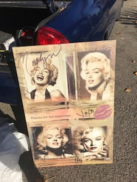 Marilyn Monroe canvas 2268 mi