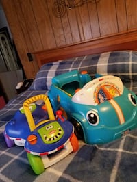 toddler's blue and green ride on toy Findlay, 45840