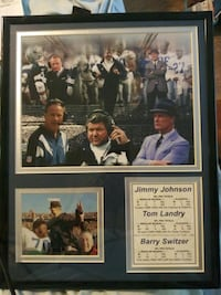 Price Drop.Jim. J.Tom Landry, Barry S. & Jeff Bur.