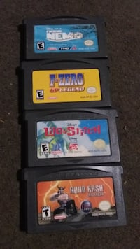4 gameboy advanced games Niagara Falls, L2E 2J8