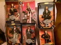 6 Harley Davidson Barbies & Harley bike with Harle Omaha, 68164