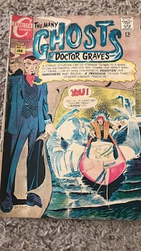 The Many Ghosts of Doctor Graves 1969 comic Murrieta, 92562