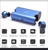 X2T Bluetooth Double Mini Earbuds Vancouver, V5R