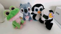 Lot of TY beanie boos stuffed toys