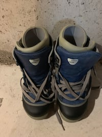 Pair of Burton Snowboarding boots with bindings Brampton, L6X 4M4