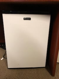 White and black compact refrigerator Modesto, 95354
