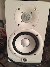 white and gray 2-way speaker Montréal, H1Y 2S9