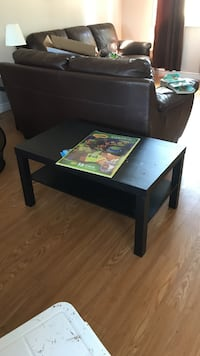 rectangular black wooden coffee table Ottawa, K4M 7M9