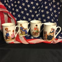 Norman Rockwell Mug Collection Greenville, 29611
