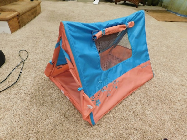 American girl doll camping tent&working light
