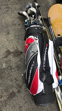 black and red golf bag Mississauga, L5J 1W3