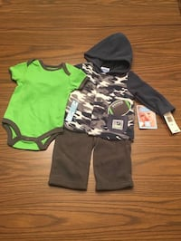 Infant Boys 3pc. Football Outfit