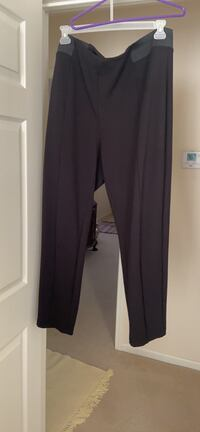 Black pair and Gray pair of  pants size 20-22. $5 each!! Plus size