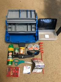 Fishing pole and tackle box with everything you need. Central Point, 97502