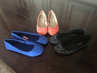 3 Pairs of Flats for $25 SIZE 7 Toronto, M9V 1H3