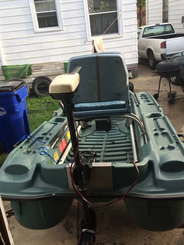 10FT Pelican bass raider 10E loaded & ready ($500)