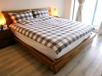 Artemano King size bed Markham, L3T 7Y1