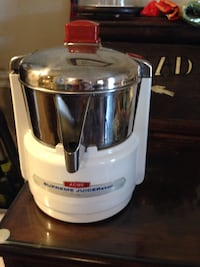 stainless steel and white acme supreme juicer Austin, 78752